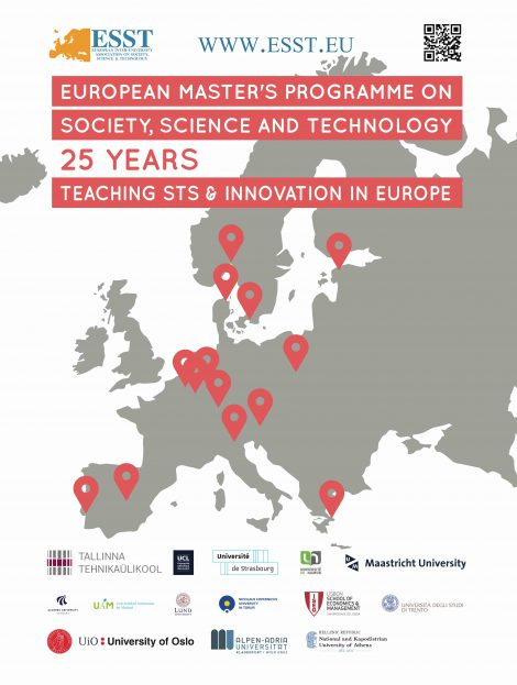 Esst  European Studies Of Society Science And Technology  You Can Read The Curriculum Of The First Semester In Athens Klagenfurt  Maastricht Madrid Oslo Or Strasbourg For The Second Semester You Must  Choose A
